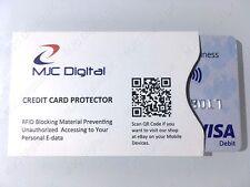 Scamcard ® sans contact carte bancaire ProtecteurRFID Bloquant CarteCarte Protection