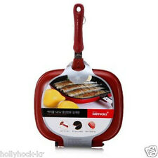 Happycall Brand New Fish-Pan Double Sided Non-stick Pressure Cook  Pan for Fish