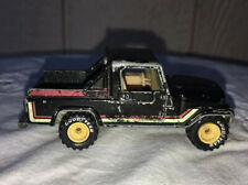 1982 Hot Wheels Jeep Scrambler Truck Real Rider Rubber Goodyear White Yellow Rim