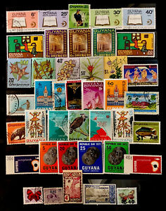 Guyana Stamps #41 All  Different Lot 72921D