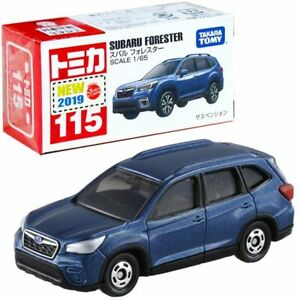 Takara Tomy Tomica #115 Subaru Forester 1/65 Diecast Mini Car Toy Dark Blue