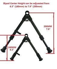 "SKS Aluminum Medium Height Short Bipod 6"" - 8"" Adjustable Clamp On"
