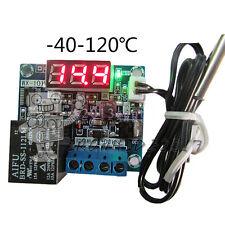 -40-120°C DC12V Intelligent Digital Led Thermostat Temperature Controller Sensor