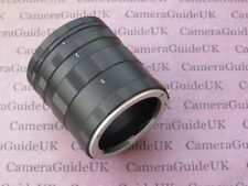 Macro Extension Tube NEX For Sony Alpha NEX-3, NEX-5, NEX-C3, NEX-5N, NEX-7