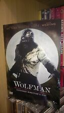 "***FILM IN DVD : ""WOLFMAN"" Extended Director's Cut – Horror, USA 2010"