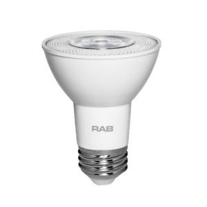 Rab 7W 4000K Medium Base Dimmable PAR20 LED Bulb - Replaces 50W 17411