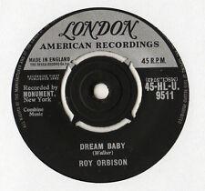 """Roy Orbison - Dream Baby 7"""" Single 1962"""
