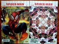 Lotto Ultimate comics SPIDER-MAN nn. 1-2 del 2010 Panini comics