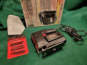 Mint condition USA Made CRAFTSMAN 917224 Sabre Saw w/blades -