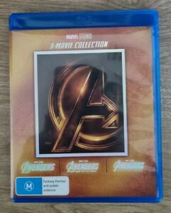 Avengers 3 Movie Collection (The Avengers, Age of Ultron, Infinity War)