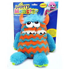 Worry Monster Cuddly Toy Eats Zip Up Mouth Loves Worries Bad Nightmare Dreams