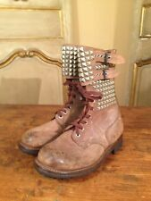 WWII Military Boots French RANGER 50's Hipster Foreign Legion J Toffart Mens 8