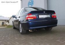 Fox Sportauspuff BMW 3er E46 320i 325i 330i Limo Coupe Cabrio 2x76 scharf