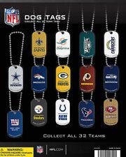 Vending Machine $1.00 Capsule Toys - NFL Dog Tags