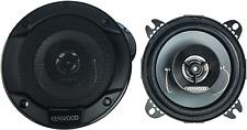 Kenwood Kfc-1066S 220 Watt 4-Inch 2-Way Coaxial Flush Mount Speakers - Pair