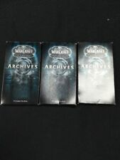 World of Warcraft Archive packs x 3 total 27 cards Extended Art Foil 2010 -(6242