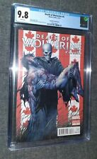 Death Of Wolverine #4 CGC 9.8 HTF CANADIAN VARIANT COVER/Key Issue/Marvel 2014