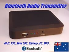 Bluetooth Audio Transmitter for Home Theatre, HI-FI, PS3 , Xbox 360, MP3, PC