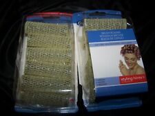 Vintage NOS 23 Goody SO Finished Brush Rollers Yellow W/ picks Sealed~1 Missing