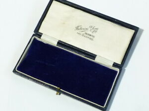 Vintage EMPTY Masonic Jewel Box Fattorini & Sons #F1
