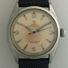 Rolex Oyster Perpetual Bubble Back 6084. 1953. Original Dial. Beautifully Toned.
