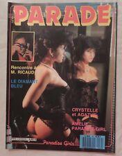 Vintage French erotisch magazine - Sexy Parade n°80/1988  - Comme neuf