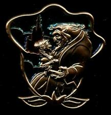 WDW New Fantasyland Stained Glass Beauty and the Beast Disney Pin 94197