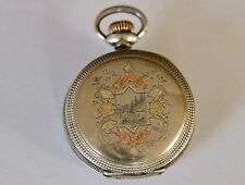 Rare 1897 Waltham Sterling Silver Small Size Pocket Watch Hunting 11J
