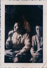 FOTO ALPINISTI IN TENDA IN MONTAGNA ANNI '30 7-88