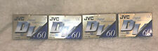 JVC DV 60 LP 90 minutes Digital Video Cassette Lot Of 4