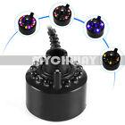 12-LED Ultrasonic Mist Maker Fogger Water Fountain Pond DC 24V