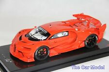 Bugatti Vision GT Gran Turismo Red Rosso Dino, Carbon Base - Ltd 30 pcs MR 1/18