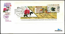 Netherlands 1988 Filacept Flowers Exhibition M/S Cover #C36192