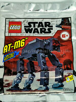 NEW - ORIGINAL LEGO STAR WARS Limited Edition AT-M6 911948 Foil Pack - Sealed