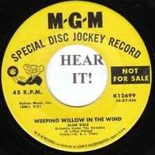 Alan Dale POP (MGM 12699 PROMO) Weeping Willow in the Wind/Volare  VG+