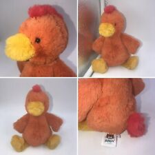 Jellycat Small Bashful Rooster Soft Toy Plush Chicken Hen Approx 8""