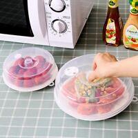 Mikrowelle Abdeckhaube Mikrowellen Haube Deckel Abdeckung Küchenwerkzeug Speisen
