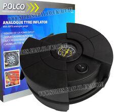 Polco 59550 12v Plug coche van Analógico neumático Compresor De Aire Inflador Bomba Eléctrica