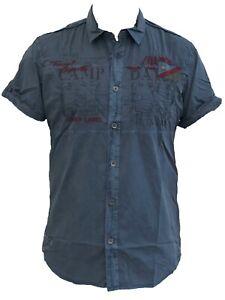 "NEU Camp David Herren Hemd "" Ralley Namibia "" Regular Fit kurzarm kurzärmelig M"