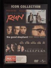 New listing Icon Collection 3 De Niro Movies Dvd - Midnight Run, The Good Shepherd, Sleepers
