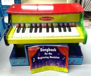NEW! Melissa & Doug Kid's Learn to Play Piano w/ Beginner's Songbook