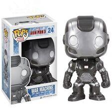 Funko POP! Iron Man 3 Marvel Civil War Machine Bobble Head Toy 4in