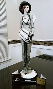 Giuseppe Armani Figurine Lady with Muff 388C Limited Edition