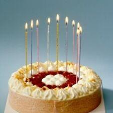 Papstar Spaghettikerzen 18 Stk. 16 5 Cm lang Geburtstag Partykerzen