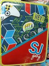 Seven SJ Gang Girl Astuccio con Doppia Cerniera - Multicolore