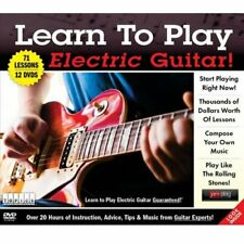 TOPICS Entertainment 60748 Learn to Play Electric Guitar