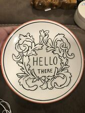 Anthropologie Molly Hatch Hello There 8.5� Plate