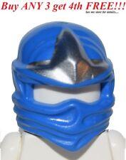 ☀️NEW Lego Ninjago Ninja BLUE HEAD WRAP - ZX Jay Minifig Headwrap Hood Hat Gear