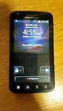 Used Motorola Atrix 4G MB860 Black (AT&T) Smartphone