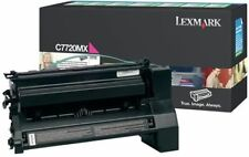Genuine Original Lexmark HIGH YIELD MAGENTA Laser Toner Cartridge C7720MX C772